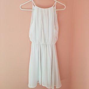 NWT Lush white dress
